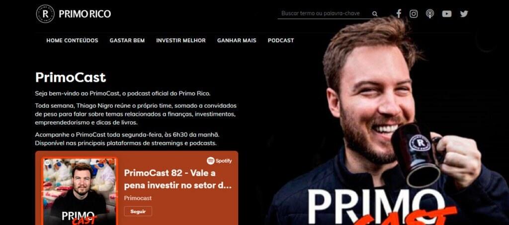 podcasts sobre economia primo rico primocast